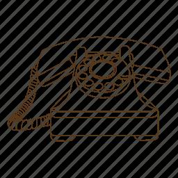 call, detective, dial, investigator, phone, private, telephone icon