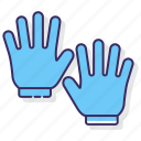 clothing, gloves, hands