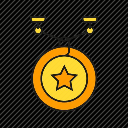 badge, ceremony, insignia, military rank, rank, star, status icon