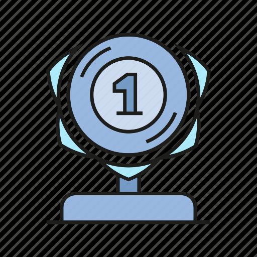 achievement, award, prize, reward, success, trophy, win icon