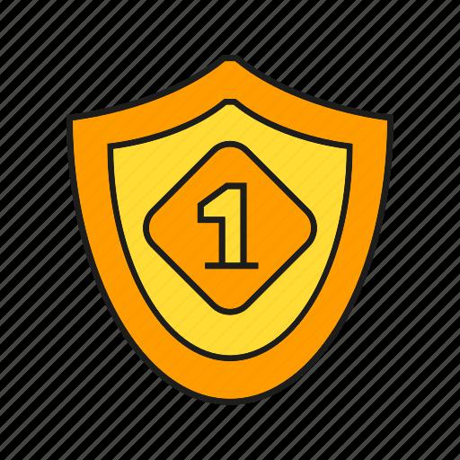 award, best, prize, reward, shield, success, win icon