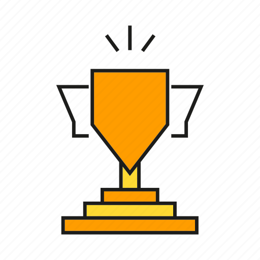 award, cup, prize, reward, success, trophy, win icon