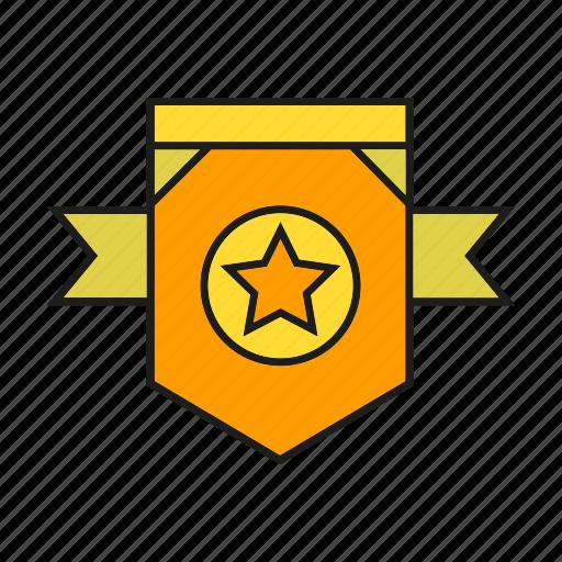 badge, insignia, military rank, rank, seal, star, status icon