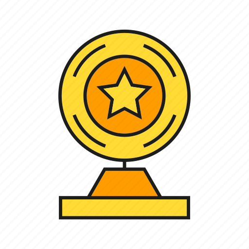 achievement, award, prize, star, success, trophy, win icon