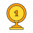 award, best, one, prize, reward, top, trophy icon