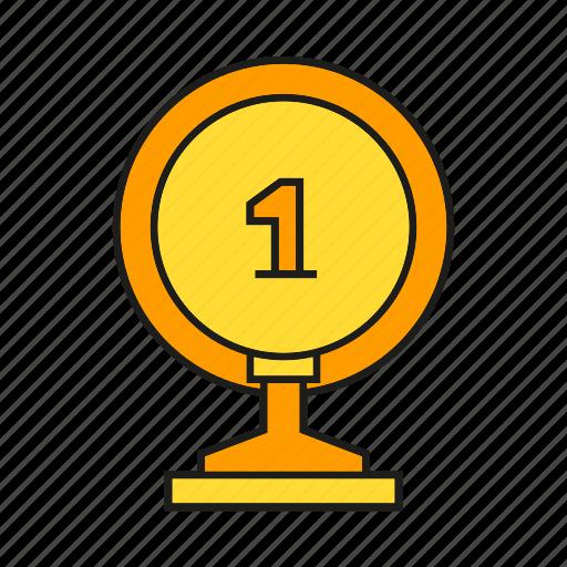 award, best, one, prize, reward, top, trophy icon
