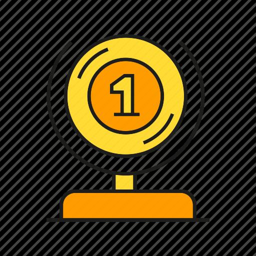 award, best, prize, reward, success, trophy, win icon