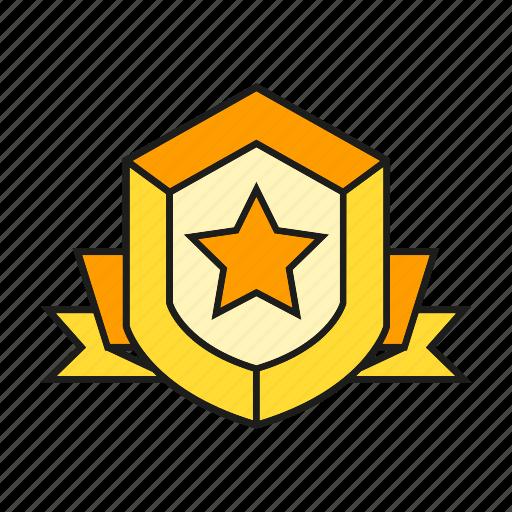aegis, award, prize, reward, shield, success, win icon