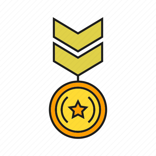 badge, insignia, medal, military rank, rank, seal, status icon