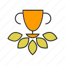 achievement, award, prize, reward, success, win icon