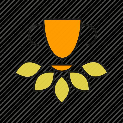 achievement, award, prize, reward, success, win icon