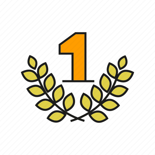award, best, one, prize, reward, top, wheat icon