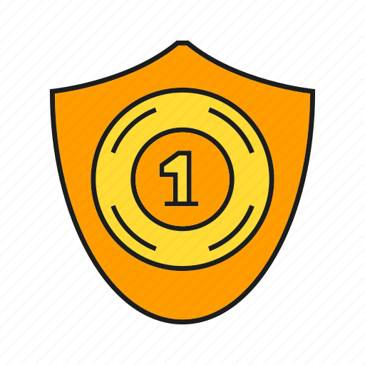 aegis, award, one, prize, reward, shield, win icon