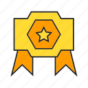 award, champ, prize, reward, star, success, win icon