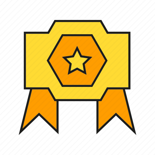 award, champ, prize, reward, star, success, win icon