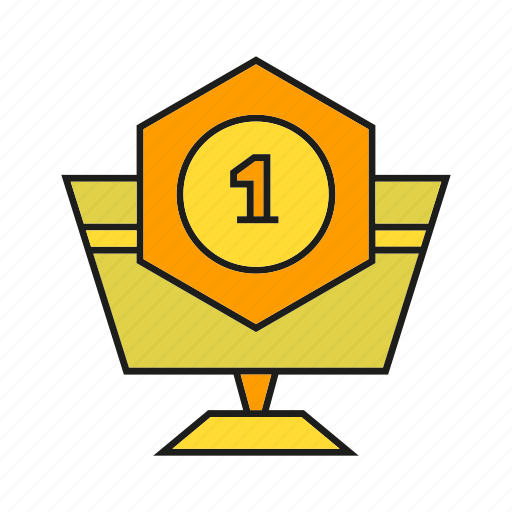 achievement, award, prize, reward, success, trophy, win icon