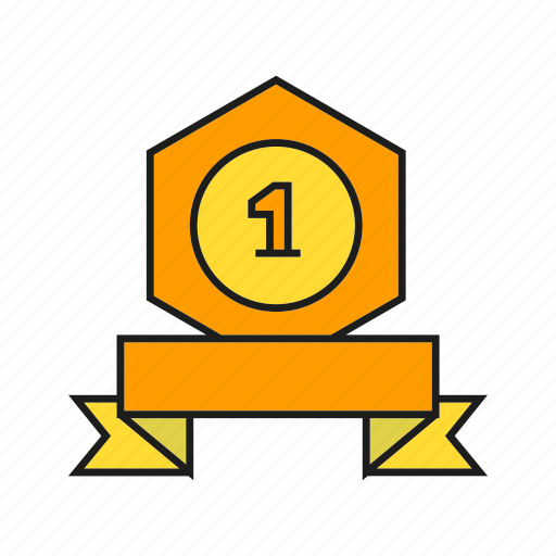award, best, medal, prize, reward, ribbon, win icon