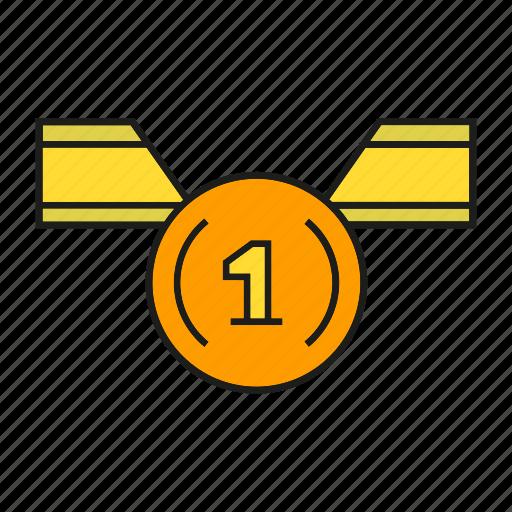 award, best, medal, prize, reward, success, win icon