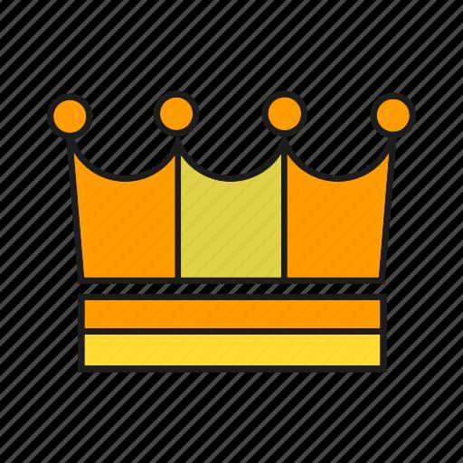 achievement, corona, crown, diadem, king, reward, success icon