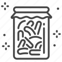 fermentation, healthy, intestinal, kimji, pickles, probiotic, probiotics icon