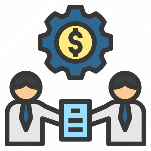 agreement, business, collaborate, commitment, sign icon