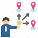 branch, distribution, location, supplier, vender