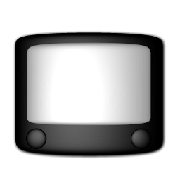 dvd, television, video icon