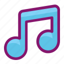 audio, ecommerce, instrument, music, shopping, song, sound icon