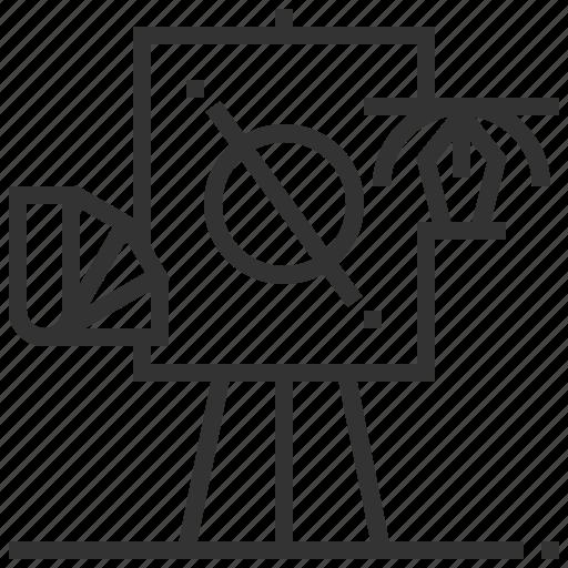 creative, design, process, sign icon