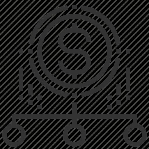 business, method, optimization, search, seo icon