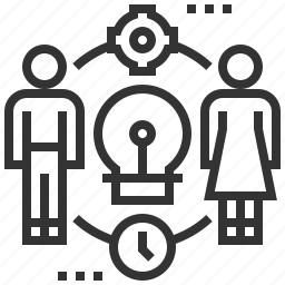 allocation, business, finance, financial, money, resource icon