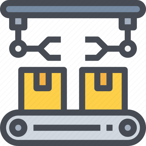 box, manufacturing, product, production icon