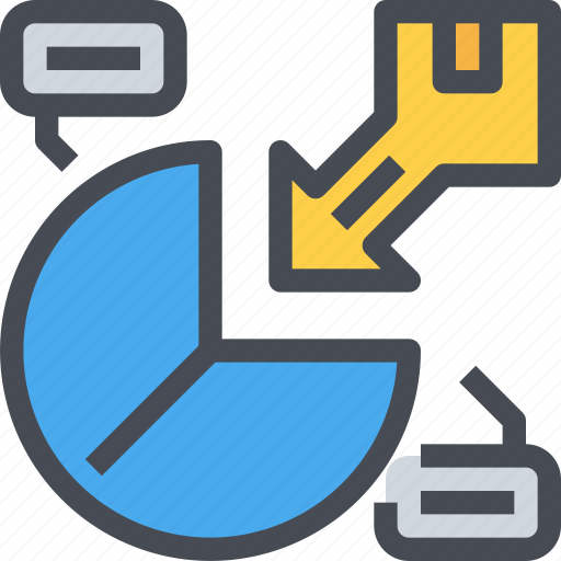 analysis, business, market, marketing, product, report icon