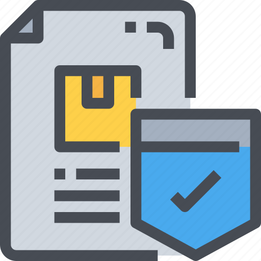 box, document, file, protection, secure, security icon