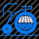 big, bike, dream, inspiration icon