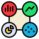 analysis, analytic, data, metric, presentation, statistic icon