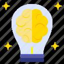 brain, creative, dynamic, idea, initiatives, inventive icon