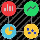 analysis, analytic, data, metric, presentation, statistic icon