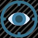 define, vision, business, eye, target