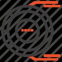 allocation, analysis, diagram, estimation, resource icon