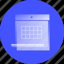 calendar, time, date, agenda, schedule, event, timetable
