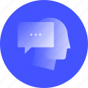 feedback, client, reply, message, answer, memo, comment icon