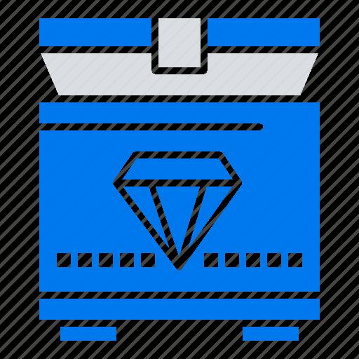 chest, gaming, treasure icon