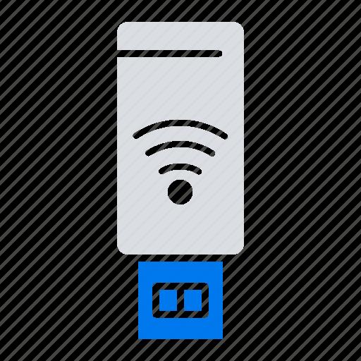 servise, signal, usb, wifi icon