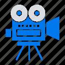 camera, education, filam, movi icon