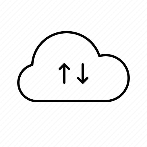cloud, efficiency, office, optimization, performance, productivity icon