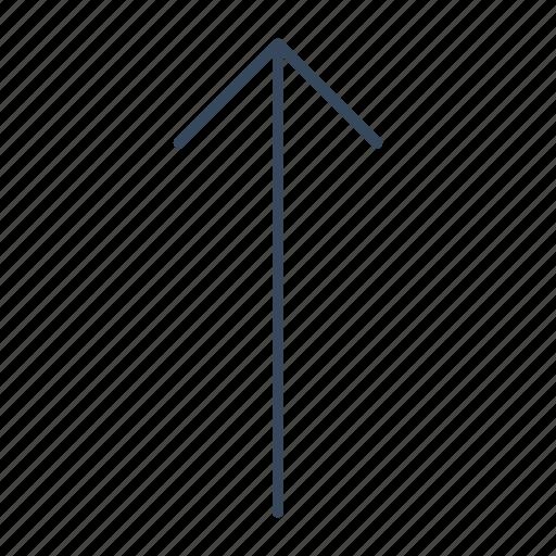 arrow, direction, slip, up icon
