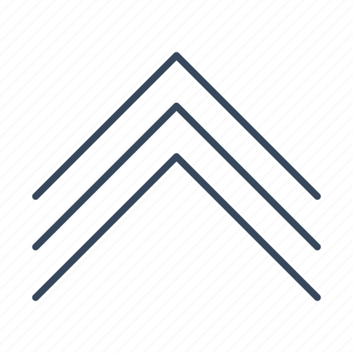 arrow, chevron, direction, move, up icon