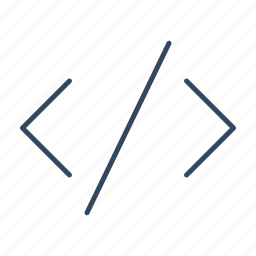 code, css, html, html code, script icon