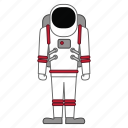 astronaut, astronomy, space icon